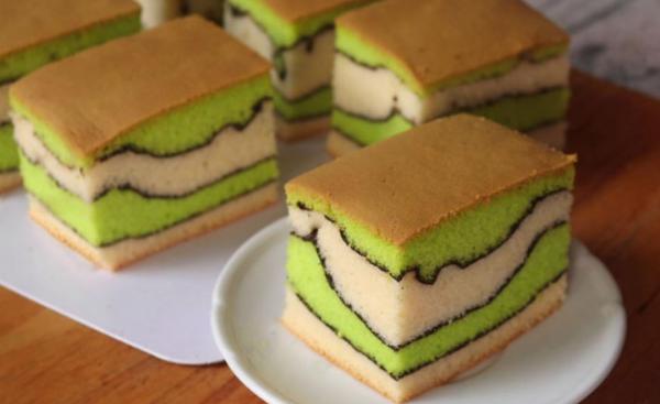 """Sponge Cake Topo Map Cake"", Delicious"