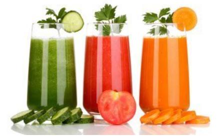 Benefits of healthy vegetable & fruit juices !!